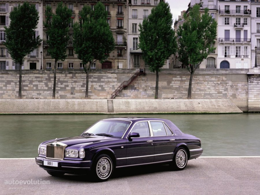 Manufactured Between 1998 And 2002 The Rolls Royce Silver Seraph Was First Presented In March At Geneva Motor Show Successor Of Spur