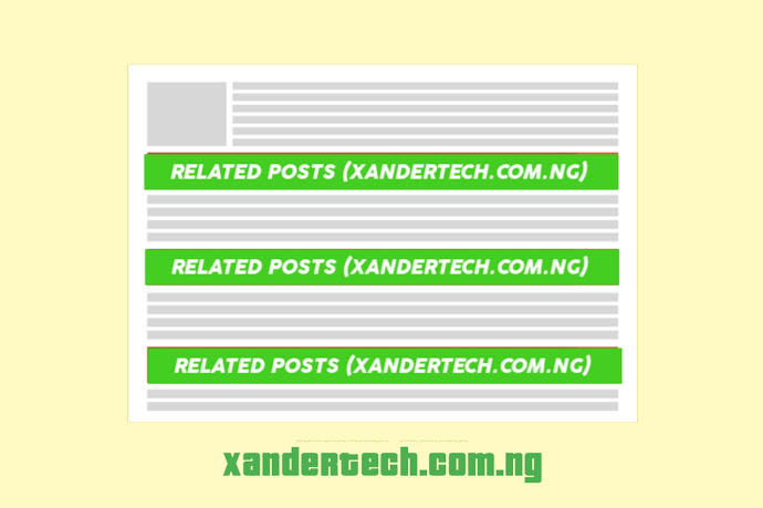 How to Install Multiple Related post in Blogger