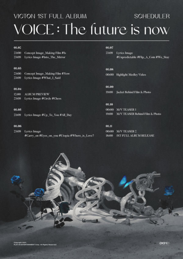 VICTON Releases Teaser Schedule for Upcoming Comeback 'VOICE: the future is now'
