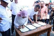 Gubernur NTB Resmikan Pelayaran Perdana Badas-Surabaya