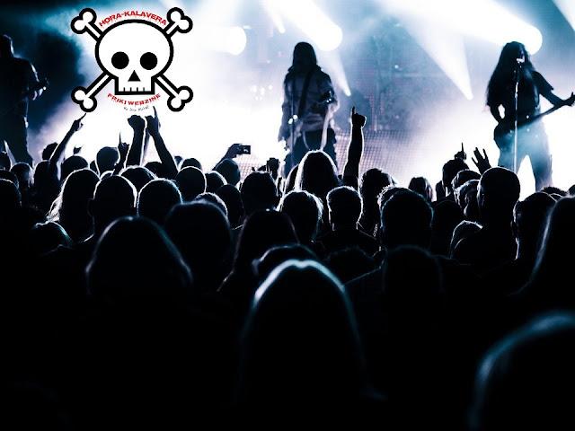 Los Fans del Heavy Metal los Más Felices.