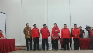PDIP mengumumkan 6 calon gubernur