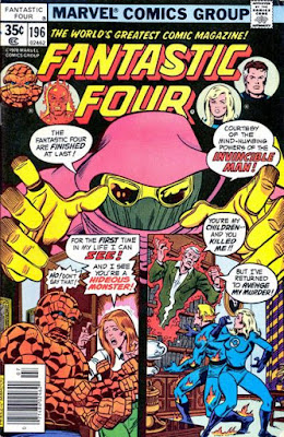 Fantastic Four #19, the Invincible Man
