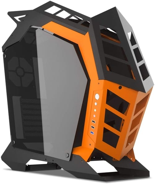 Review darkFlash Knight Open Frame ATX Computer Case