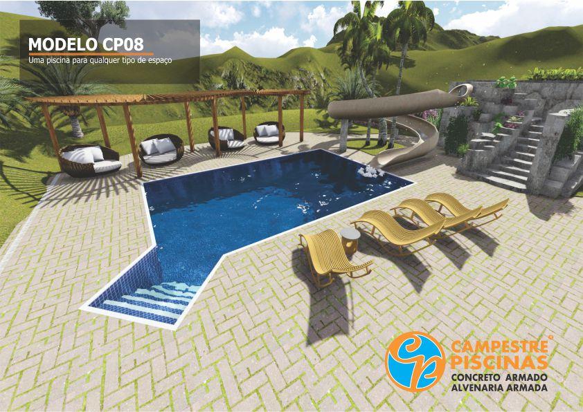 12 modelos de piscinas diferentes for Modelos de piscinas campestres