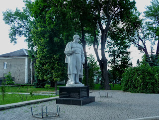 Дубно. Парк ім. Шевченка. Пам'ятник Кобзарю