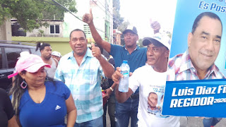 Regidor Luis Diaz Filpo sigue sumando