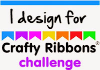Proud to be a DT Member for Crafty Ribbons