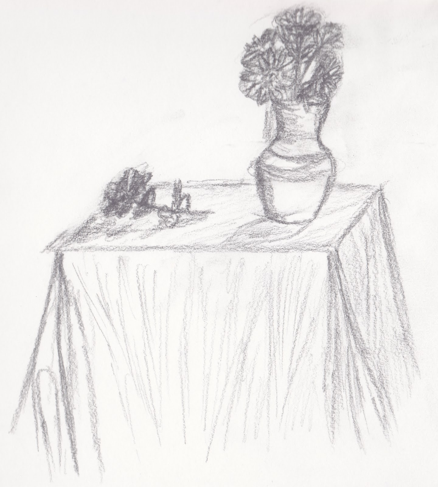Observational Drawing Week 6 Still Life Natural And Man Made Forms