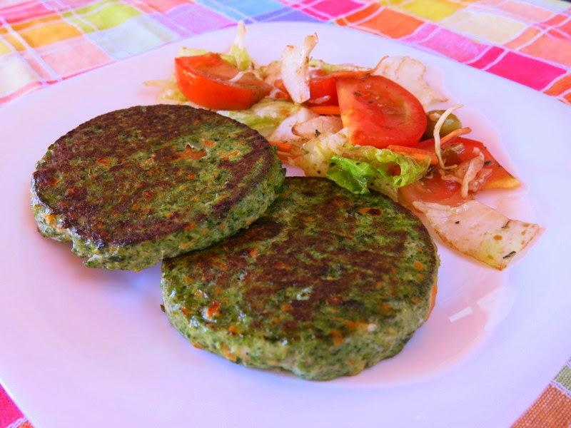 Tomillo laurel y otras cosas de comer hamburguesas de for Maneras de cocinar espinacas