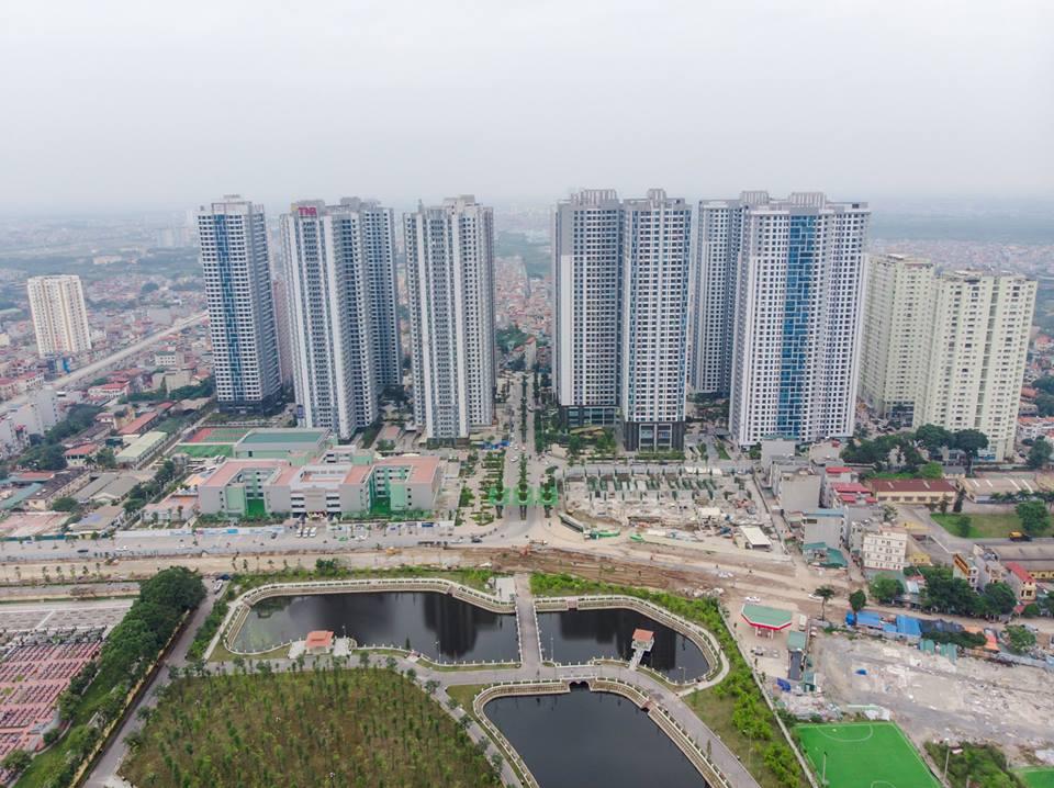 Mặt bằng tổng thể dự án Goldmark City 136 Hồ Tùng Mậu