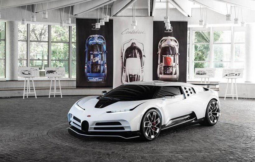 See The Newly Released Bugatti EB110 SS That Costs 4.8 Billion Naira