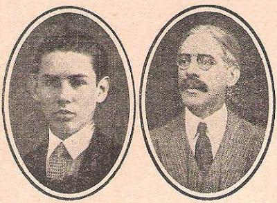 Los ajedrecistas argentinos Carlos Hugo Maderna y  Benito H. Villegas