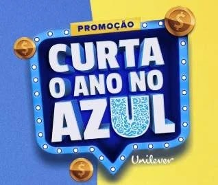 Cadastrar Promoção Unilever Curta Ano no Azul