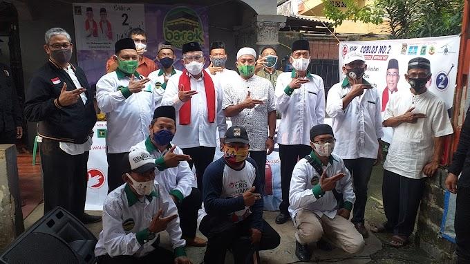 Warga Beji Targetkan 80 Persen Kemenangan Paslon Idris-Imam