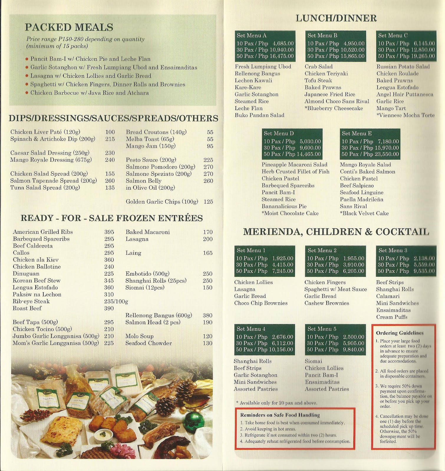 Contis Cake Philippines List Price