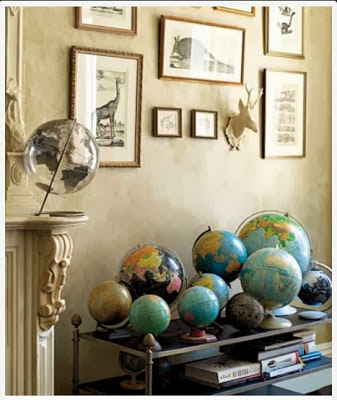 decorating with vintage