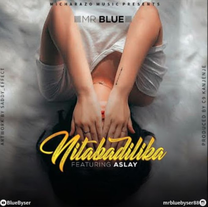 MR BLUE ft. ASLAY - NITABADILIKA | DOWNLOAD MP3