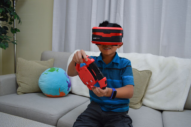 Virtual reality game for kids