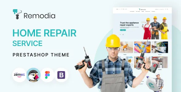 Best Home Repair Service PrestaShop Theme