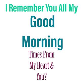 Most Sharing Good Morning Image