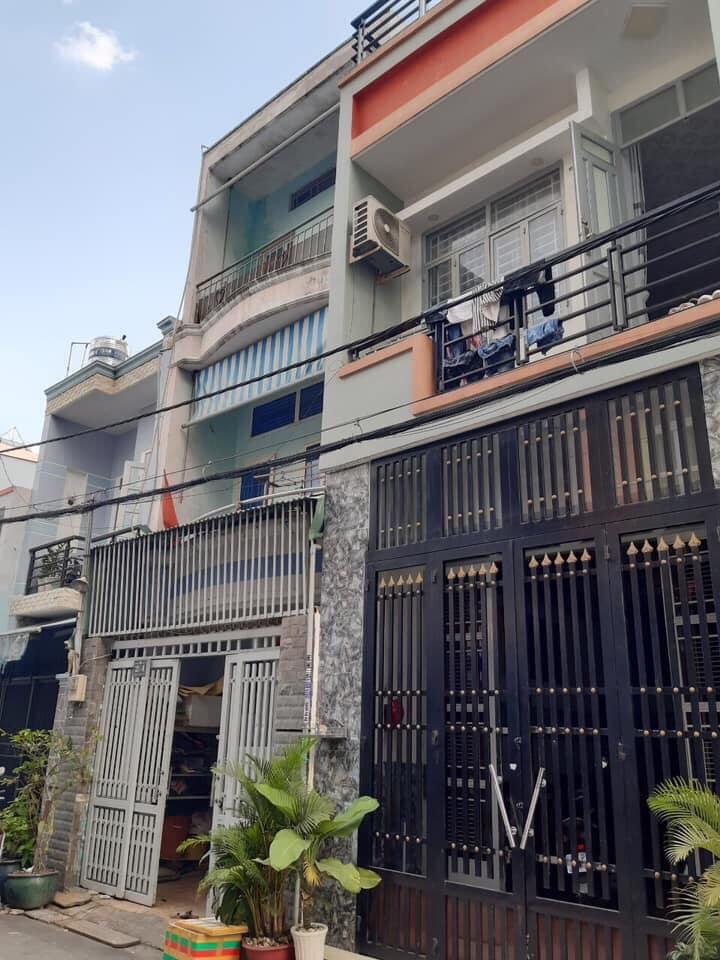 Bán nhà Đường số 16A phường Bình Hưng Hòa A quận Bình Tân. DT 4x13m