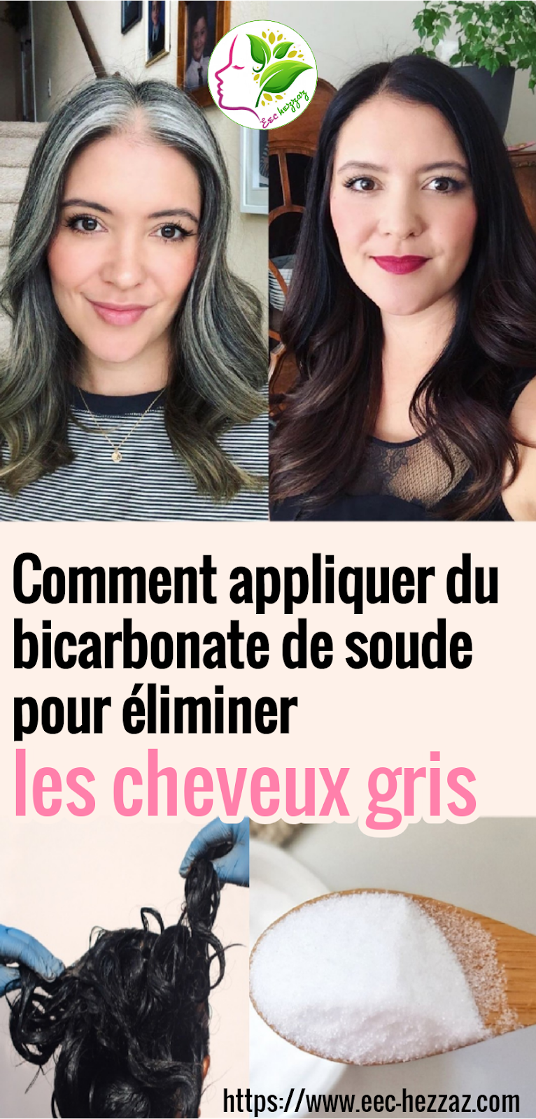 Comment appliquer du bicarbonate de soude pour éliminer les cheveux gris