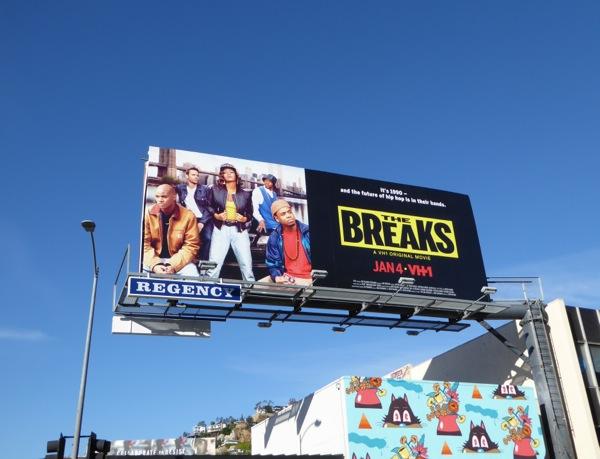 The Breaks movie billboard
