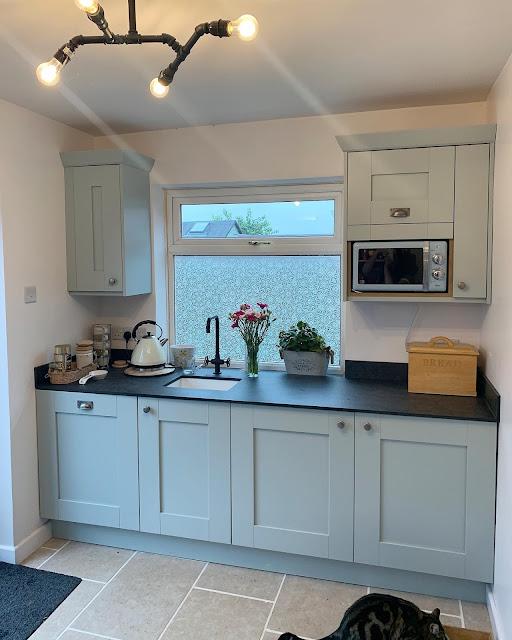 DIY kitchens Malton Cornflower Blue