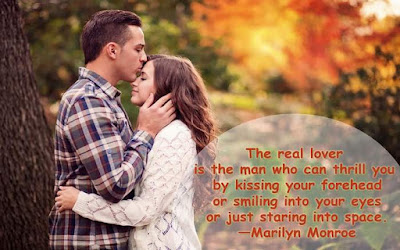 romantic kiss image with quotes