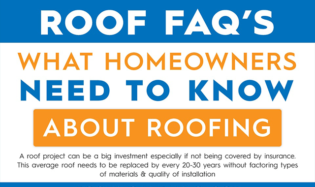 What Homeowners Need To Know About Roofing #infographic