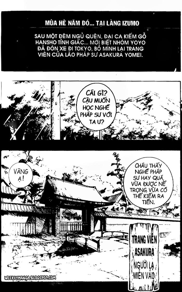 Shaman King [Vua pháp thuật] chap 102 trang 6