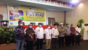84 Wartawan Riau Ikuti UKW Angkatan XV dan XVI di Siak Sri Indrapura