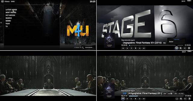 Add-On M4U - Kodi : Filmes em HD e Full HD