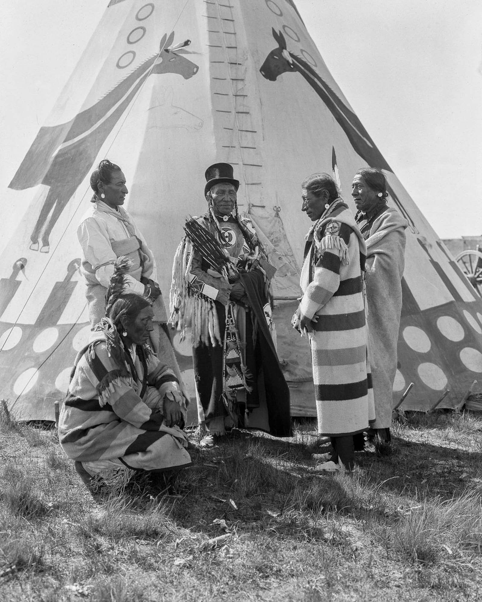 First nations photographs harry pollard