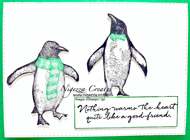 Playful Penguins Stampin' Up!