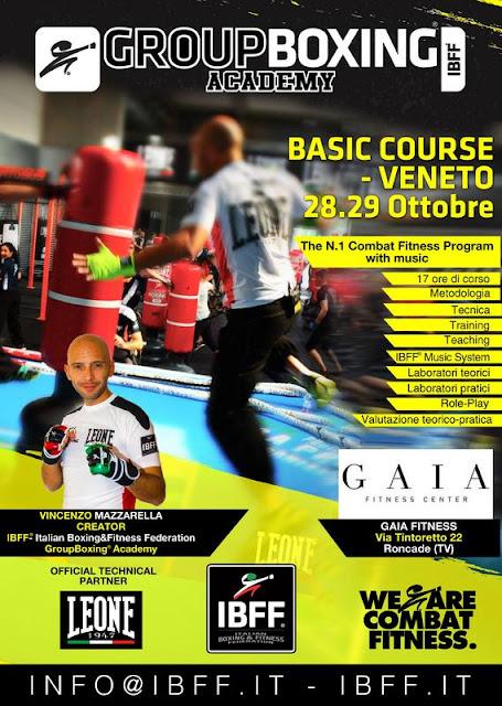GroupBoxing. Basic- Veneto, 28.29 Ottobre, a Roncade (TV)