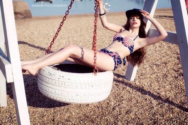 Hot Girl Andrea  Mặc Bikini Vô Cùng Gợi Cảm