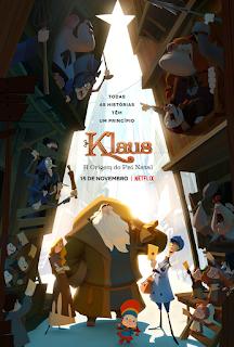 KLAUS: A Origem do Pai Natal, Uma Animação Natalícia da Netflix Com Presença Portuguesa!
