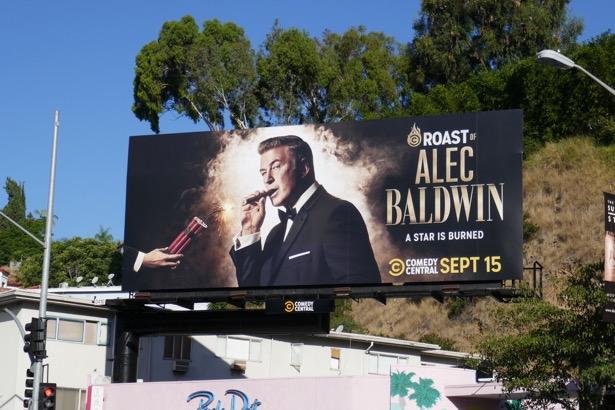 Comedy Central Roast Alec Baldwin billboard