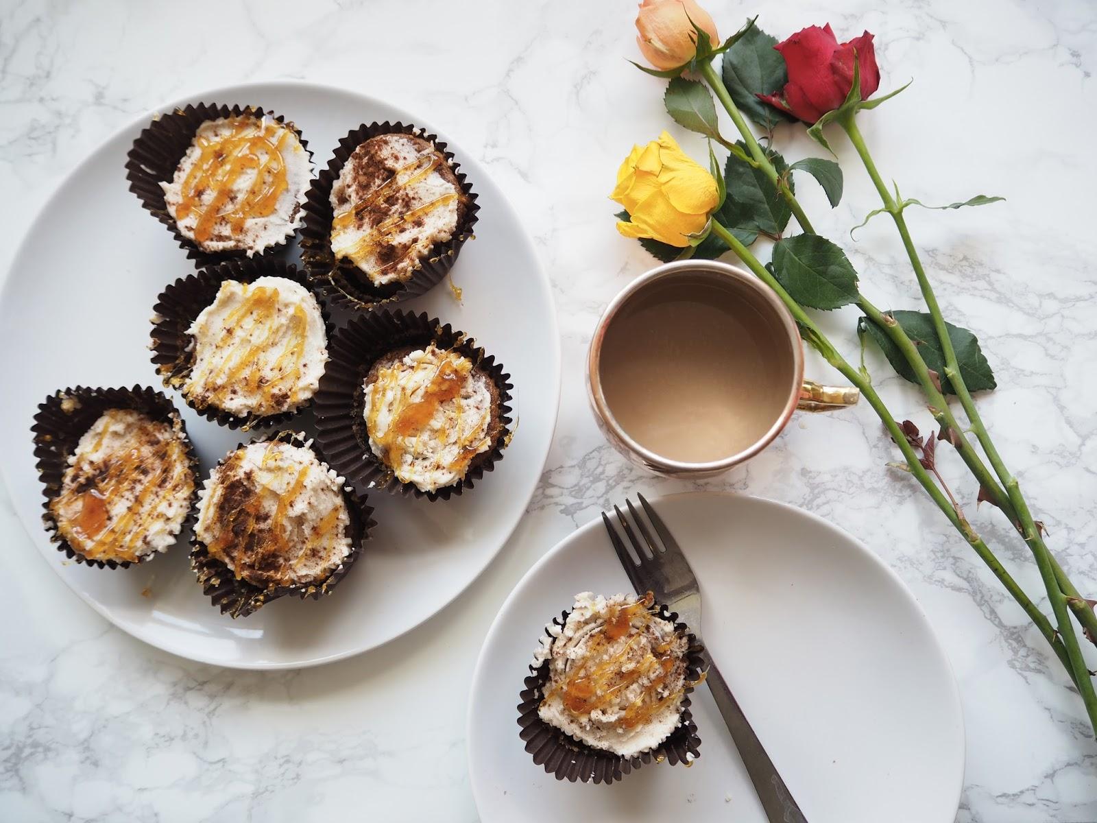 Cinnamon And Caramel Cupcake Recipe// Autumn Baking // Lauren Rose Fashion Lifestyle Blogger London