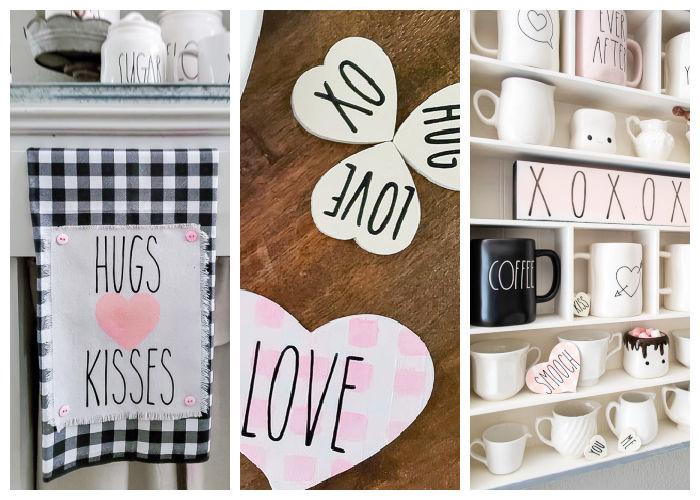 Rae Dunn inspired Valentines DIYs