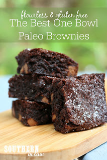 The Best One Bowl Paleo Brownies Recipe