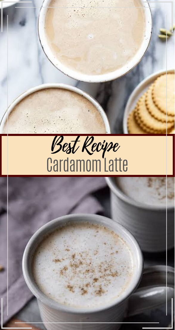 Cardamom Latte  #healthydrink #easyrecipe #cocktail #smoothie