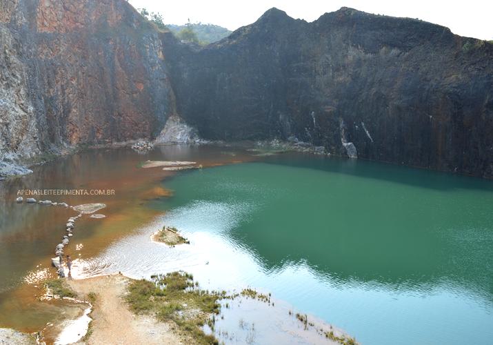 Lagoa Azul em Campo Magro
