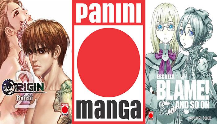 Novedades Panini Comics diciembre 2018: Origin #2 y Escuela Blame! and so on