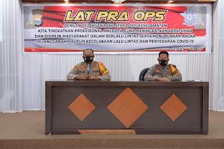 Lapra Ops Keselamatan 2021 dibuka Langsung Oleh Kapolres Wajo