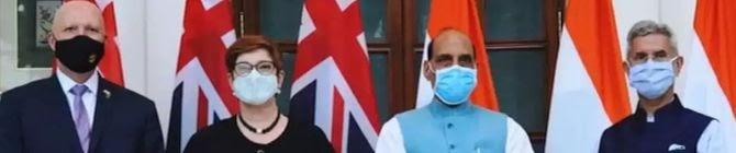 PM Modi Terms 2+2 Talks Between India, Australia Very Productive