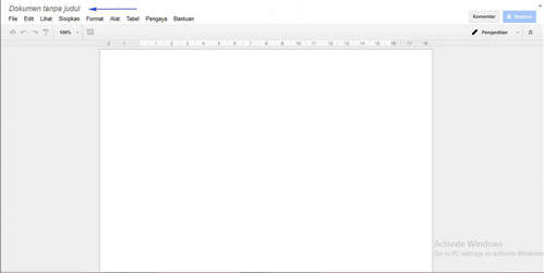 Tutotial Cara Menggunakan Google Docs