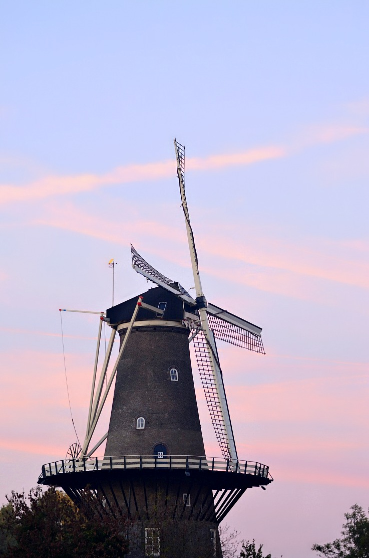Leiden Windmill, The Netherlands